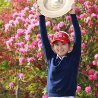 どんなカットも絵になるなぁ。 2019年 アジアパシフィック女子アマチュアゴルフ選手権 最終日 安田祐香