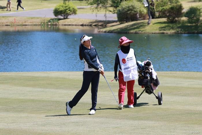 昨年覇者のティティクルは今年も2位。まだ16歳! 2019年 アジアパシフィック女子アマチュアゴルフ選手権 最終日 アタヤ・ティティクル