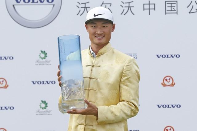 今大会で初の欧州タイトルを手にした中国の李昊桐(リー・ハオトン)※写真は2016年大会
