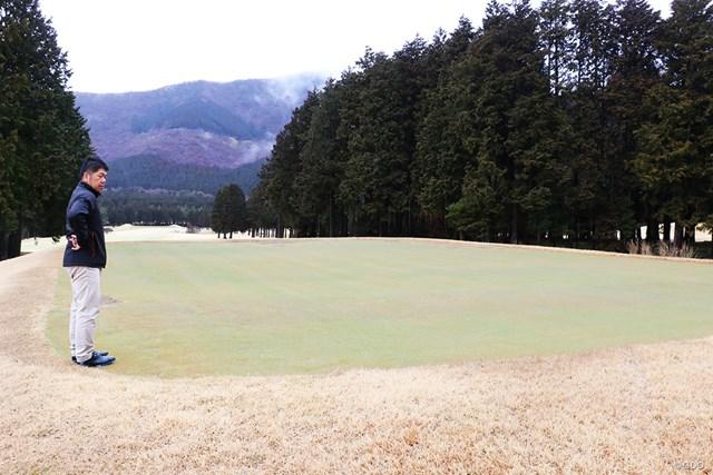大箱根カントリークラブ(神奈川県) コースの一角でさまざまな種類の芝生を試す
