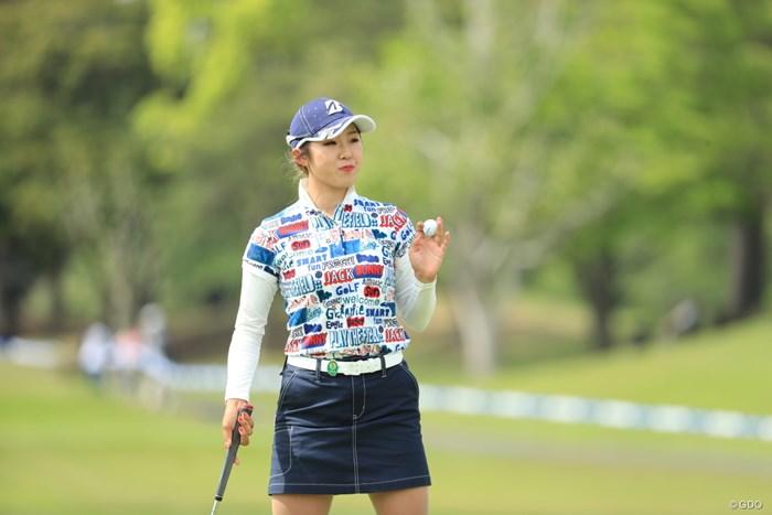 高木萌衣は2打差3位で2日目を迎える 2019年 パナソニックオープンレディースゴルフトーナメント  初日 高木萌衣
