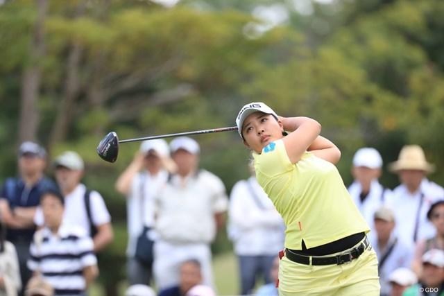 2019年 パナソニックオープンレディースゴルフトーナメント 2日目 鈴木愛 鈴木愛が首位タイで最終日に進む