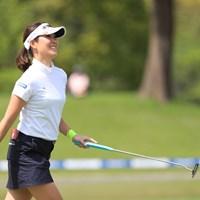 結果はバーディ、うれしいな 2019年 パナソニックオープンレディースゴルフトーナメント 2日目 福田真未