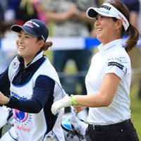 ルンルンでグリーンへ 2019年 パナソニックオープンレディースゴルフトーナメント 2日目 福田真未