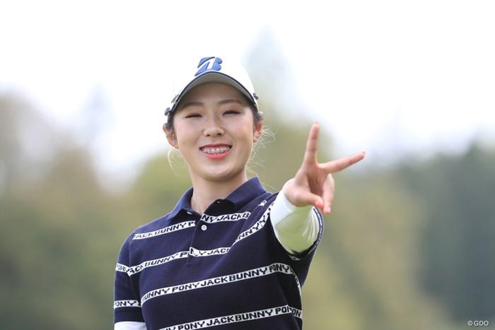 緊張屋さんなんだって 2019年 パナソニックオープンレディースゴルフトーナメント 2日目 高木萌衣