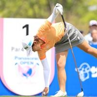 ティアップ 2019年 パナソニックオープンレディースゴルフトーナメント 2日目 永井花奈