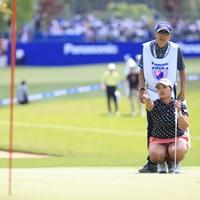 確認作業 2019年 パナソニックオープンレディースゴルフトーナメント 最終日 鈴木愛