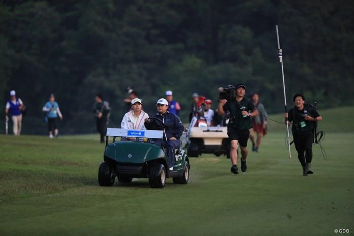 プレーオフは打ってはカート、打ってはカート 2019年 パナソニックオープンレディースゴルフトーナメント 最終日 勝みなみ