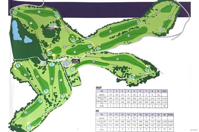 神戸ゴルフ倶楽部はパー3が11ある ※神戸ゴルフ倶楽部のパンフレットより引用