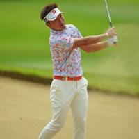 前週のチャンピオンはお疲れモードでしょうか? 2019年 アジアパシフィックオープン選手権ダイヤモンドカップゴルフ 初日 宮本勝昌