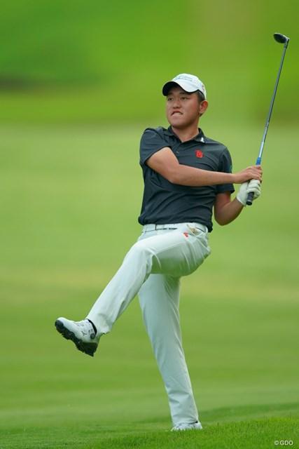 2019年 アジアパシフィックオープン選手権ダイヤモンドカップゴルフ 初日 米澤蓮 4位発進のアマチュア米澤蓮。なかなかアクションも魅力的