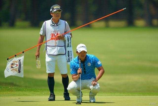 2019年 アジアパシフィックオープン選手権ダイヤモンドカップゴルフ 2日目 今平周吾 首位とは4打差。十分射程圏内ですね。