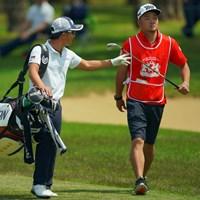 逆じゃね? 2019年 アジアパシフィックオープン選手権ダイヤモンドカップゴルフ 2日目 香妻陣一朗