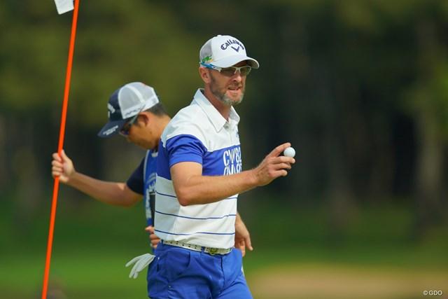2019年 アジアパシフィックオープン選手権ダイヤモンドカップゴルフ 2日目 ブレンダン・ジョーンズ 決勝ラウンドで一気にアクセル全開か?