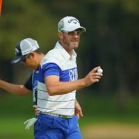 決勝ラウンドで一気にアクセル全開か? 2019年 アジアパシフィックオープン選手権ダイヤモンドカップゴルフ 2日目 ブレンダン・ジョーンズ
