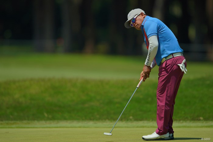 今年はシニアとレギュラーのダブル優勝に期待したいです。 2019年 アジアパシフィックオープン選手権ダイヤモンドカップゴルフ 2日目 プラヤド・マークセン