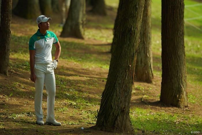 今日はツキもなかったか。 2019年 アジアパシフィックオープン選手権ダイヤモンドカップゴルフ 2日目 ダンタイ・ブーマ