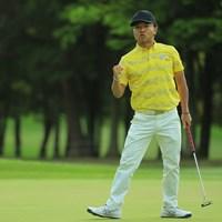 片山晋呉は2日目に「69」。最終18番でバーディフィニッシュを決めた 2019年 アジアパシフィックオープン選手権ダイヤモンドカップゴルフ 2日目 片山晋呉