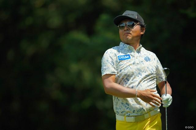 2019年 アジアパシフィックオープン選手権ダイヤモンドカップゴルフ 3日目 片山晋呉 今週は日替わりゴルフか。