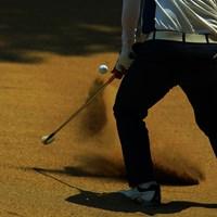 無回転ボール! 2019年 アジアパシフィックオープン選手権ダイヤモンドカップゴルフ 3日目 バンカー