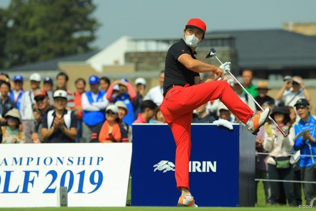 2019年 アジアパシフィックオープン選手権ダイヤモンドカップゴルフ 3日目 チェ・ホソン トリプルアクセル!!