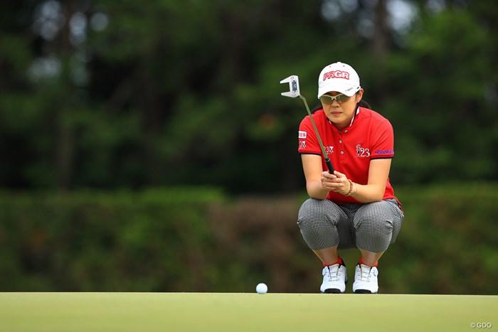 辻梨恵が14位から6位に順位を上げ最終日を迎える 2019年 ワールドレディスチャンピオンシップサロンパスカップ 3日目 辻梨恵