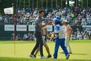 2019年 アジアパシフィックオープン選手権ダイヤモンドカップゴルフ 最終日 デンゼル・イエレミア