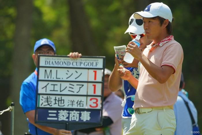 緊張感、喉も乾く。 2019年 アジアパシフィックオープン選手権ダイヤモンドカップゴルフ 最終日 浅地洋佑