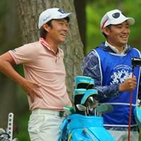 緊張を笑顔で和らげた。 2019年 アジアパシフィックオープン選手権ダイヤモンドカップゴルフ 最終日 浅地洋佑