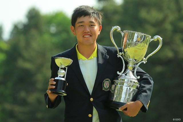2019年 アジアパシフィックオープン選手権ダイヤモンドカップゴルフ 最終日 米澤蓮 アマチュアの米澤蓮は1打差でツアー優勝の快挙を逃した