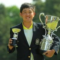 アマチュアの米澤蓮は1打差でツアー優勝の快挙を逃した 2019年 アジアパシフィックオープン選手権ダイヤモンドカップゴルフ 最終日 米澤蓮