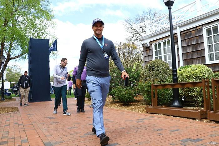ユニクロをここまでカッコ良く着る人はアダムをおいて他にいない! 2019年 全米プロゴルフ選手権 事前 アダム・スコット