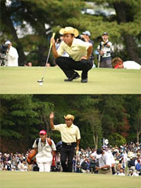 2004年 プレーヤーズラウンジ 片山晋呉