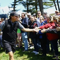 「今はサインはしません。でもタッチはするよ」 2019年 全米プロゴルフ選手権 事前 フィル・ミケルソン