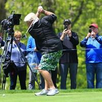 本当に膝が悪いの?って思わせるような飛距離を放っていきました 2019年 全米プロゴルフ選手権 事前 ジョン・デーリー