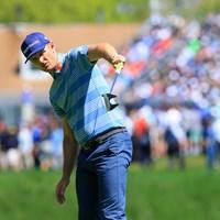 こうやって右に曲げる!ってホグワーツで習ったはずなんだけど‥ 2019年 全米プロゴルフ選手権 初日 ジャスティン・ローズ