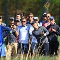スコットと5アンダー2位タイに並んだ。ケプカとの7打差をひっくり返してキャリアグランドスラムを完成させたい 2019年 全米プロゴルフ選手権 2日目 ジョーダン・スピース