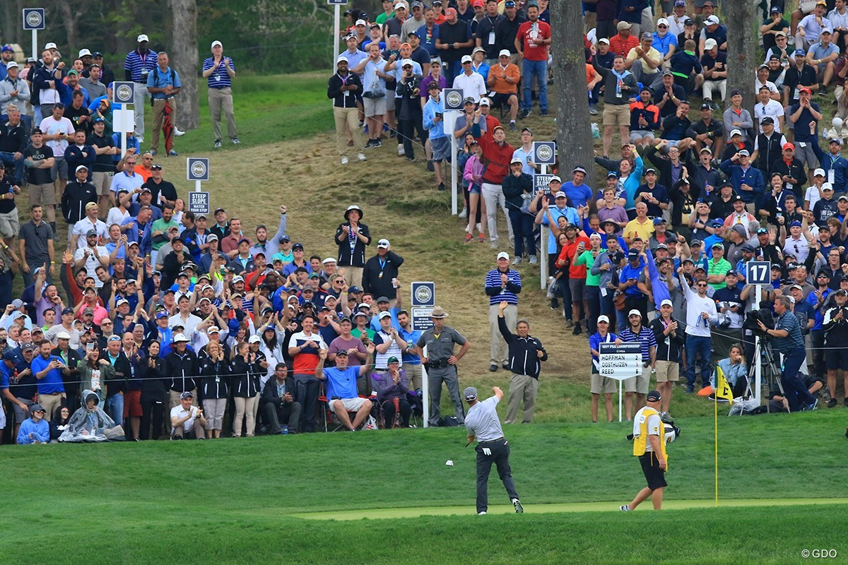 8bc2f70ea0c6d 大盛り上がりの会場。ボルテージは常にマックスだ 2019年 全米プロゴルフ ...