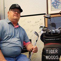 ウッズのクラブを削り続けたテーラー氏 2019年 全米プロゴルフ選手権 2日目 マイク・テーラー