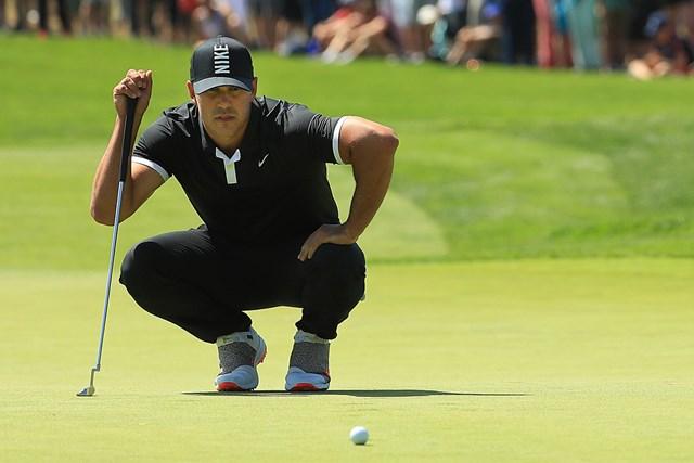 2019年 全米プロゴルフ選手権 3日目 ブルックス・ケプカ 独走のまま最終日を迎えるケプカ。大会連覇に前進した(Mike Ehrmann/Getty Images)