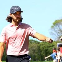 昨年の全米オープンでも3日目に後退した後、最終日にまくって2位となった。明日もそれを再現する? 2019年 全米プロゴルフ選手権 3日目 トミー・フリートウッド