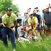 最終日は強風で停滞。松山英樹は16位で終えた 2019年 全米プロゴルフ選手権 最終日 松山英樹