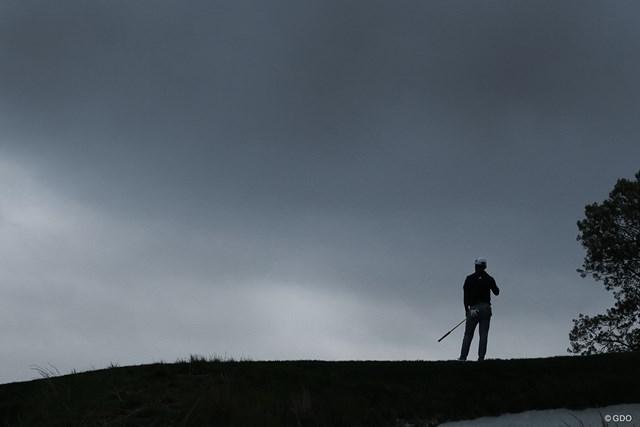 2019年 全米プロゴルフ選手権 最終日 曇天 雨にこそ降られなかったが、暗い雲が会場の空を覆った