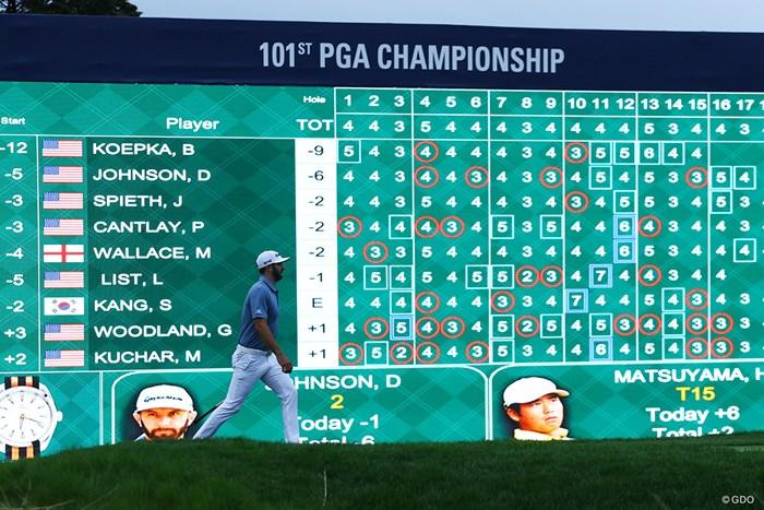 7打差は逆転不可能と思われたが、最後には本当にひっくり返るんじゃないかと思わせてくれた 2019年 全米プロゴルフ選手権 最終日 ダスティン・ジョンソン