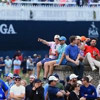 あちこちから「People`s PGA(みんなのPGA)」という掛け声が聞こえてきた 2019年 全米プロゴルフ選手権 最終日 ギャラリー