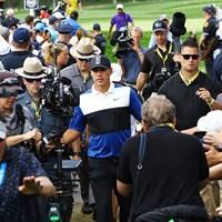 世界ランク1位に返り咲いたブルックス・ケプカ 2019年 全米プロゴルフ選手権 最終日 ケプカ