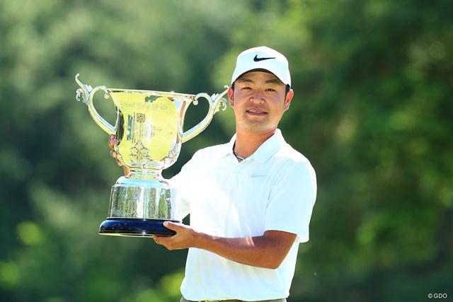 昨年大会は時松隆光が逆転優勝を果たした
