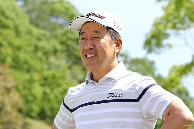 現在は韓国でアカデミーを運営するS.K.ホ。ツアー復帰への意欲も口にした