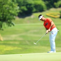 首位発進を決めた藤田寛之。パットが冴えわたった 2019年 関西オープンゴルフ選手権競技  初日 藤田寛之