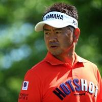 バーディー後もしれっとした表情 2019年 関西オープンゴルフ選手権競技 初日 藤田寛之